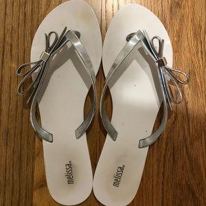 Melissa bow flip flop
